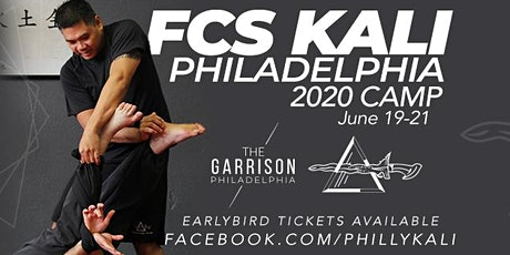 FCS Kali Pennsylvania Camp 2020 with Tuhon Ray Dionaldo tickets