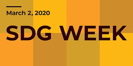 SDG Week: Introduction to the SDGs tickets