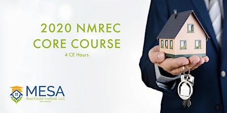 2020 NMREC Core Course tickets