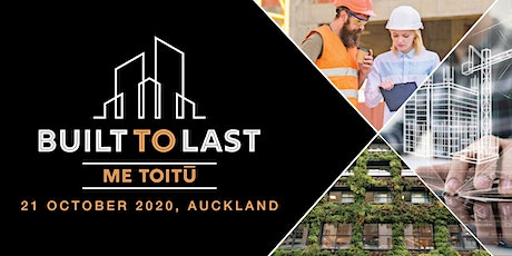 BUILT TO LAST – ME TOITU Conference tickets