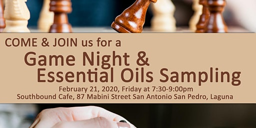Game Night & Essential Oils Sampling