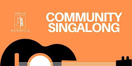 Community Singalong tickets