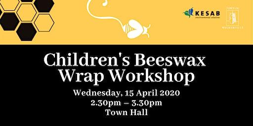 Children's Beeswax Wrap Workshop