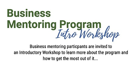 Business Mentoring Program- Introductory Workshop- Dirranbandi tickets