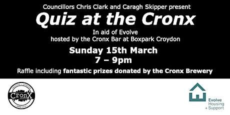 Quiz at the Cronx tickets