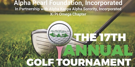 Alpha Pearl Foundation's 17th Annual Golf Tournament tickets