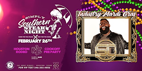 Simply Southern Steak Night: Industry Mardi Gras tickets
