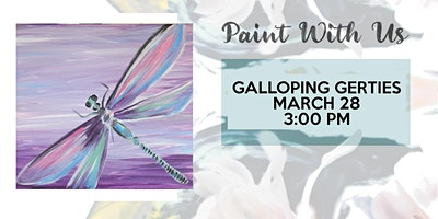 Sip and Paint party at Galloping Gerties!