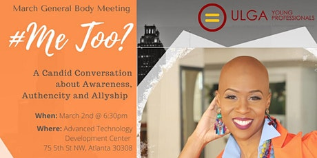 #MeToo? A Candid Conversation about Awareness, Authenticity and  Allyship tickets
