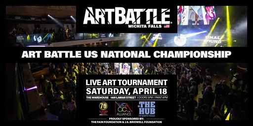 2020 Art Battle US National Championship! - April 18, 2020