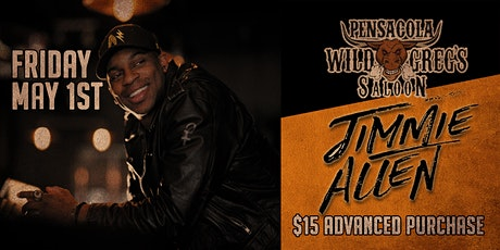 Jimmie Allen Live at Wild Greg's Saloon Pensacola tickets