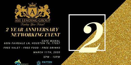 Axe Lending Group | Real Estate Investor Mixer | 2 Year Anniversary Party