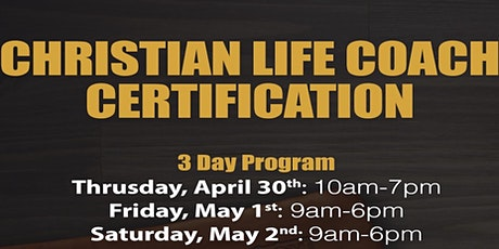 Accredited 3-Day Life Coach Certification  tickets