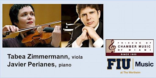 Tabea Zimmerman and Javier Perianes in Concert