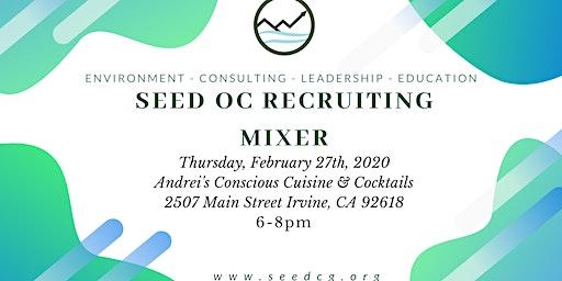 SeedOC Spring 2020 Recruitment Mixer