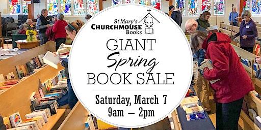 Churchmouse Giant Spring Book Sale