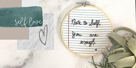 Note to Self: An Embroidery Workshop tickets