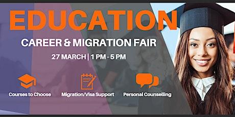 Education, Career & Migration Fair tickets