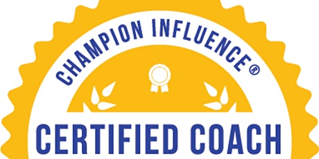 Summer: Champion Influence® Coach Certification tickets