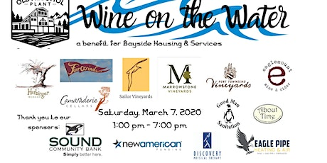 Wine on the Water tickets