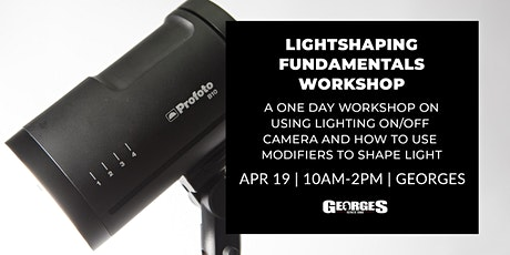 Lightshaping Fundamentals Workshop with Oliver Minnett tickets