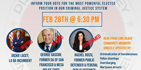 Los Angeles District Attorney Election Townhall tickets