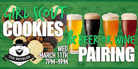 Girl Scout Cookies & Beer or Wine Pairing tickets