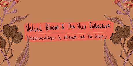 Velvet Bloom Evelyn March Residency tickets