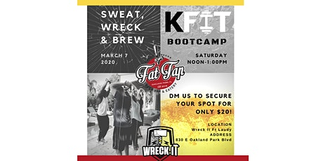 SWEAT, WRECK & BREW tickets