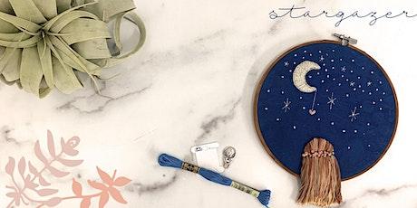 Stargazer: An Embroidery Workshop tickets
