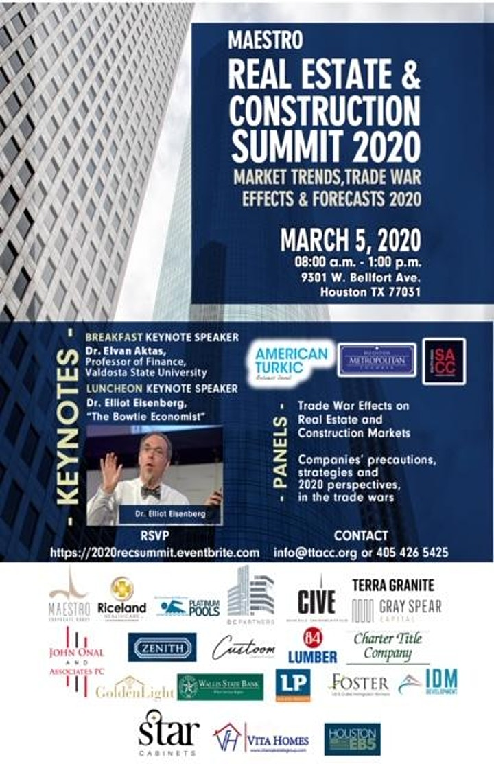 Real Estate & Construction Summit -  Market Trends, Forecasts & Trade War image