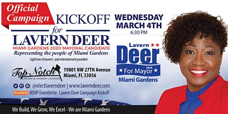 Lavern Deer Campaign Kickoff tickets