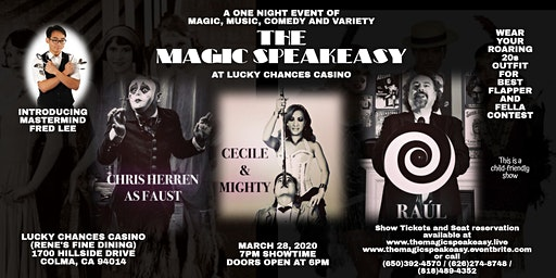 The Magic Speakeasy