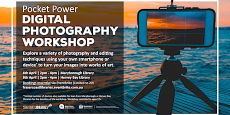 Pocket Power Digital Photography Workshop  -  Maryborough Library tickets