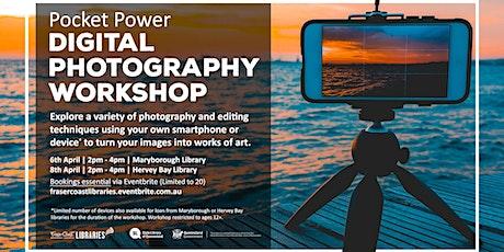 Pocket Power Digital Photography Workshop  -  Hervey Bay Library tickets