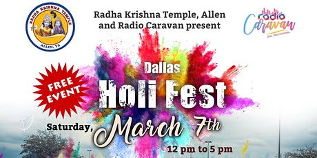 6th Annual Dallas HoliFest @McKinney – *FREE* Fest tickets