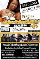 Pisces Birthday Bash Sensation!!!