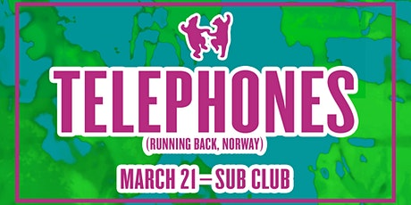 Animals Dancing: Telephones (Running Back, Norway) tickets