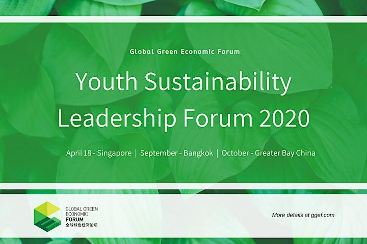 GGEF Youth Sustainability Leadership Forum 2020 image