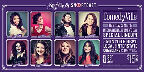 ComedyVille - Week 4 International Woman Day Special tickets