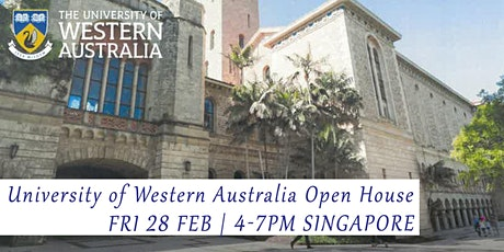 World Top 100 - Uni of Western Australia Info & Appln Day  tickets