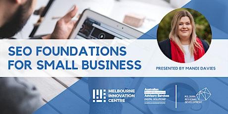 [CANCELLED WORKSHOP]: SEO Foundation for Small Business - Mildura tickets