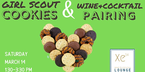 Girl Scout Cookies & Wine/Cocktail Pairing