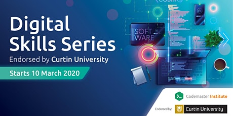 Digital Skills Series - endorsed by Curtin University Information Session tickets
