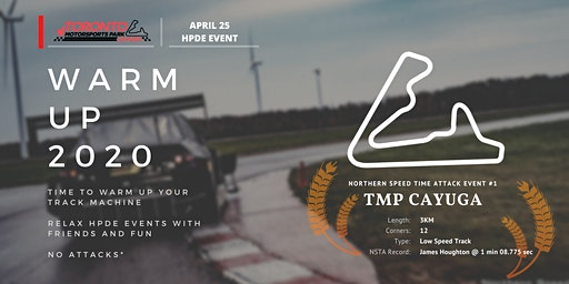 Northern Speed Time Attack #1 - TMP Cayuga HPDE
