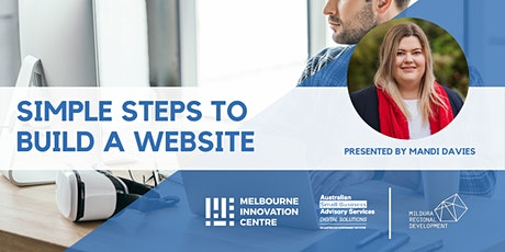 Simple Steps to Build a Website - Mildura tickets
