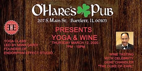 St. Patrick's Day - Yoga & Wine tickets