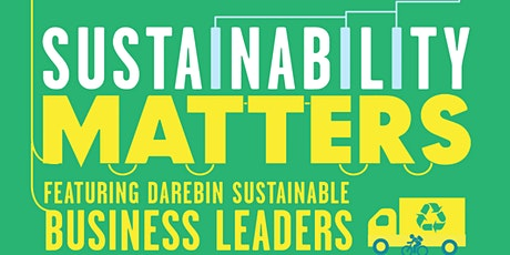 Sustainability Matters 2020 tickets