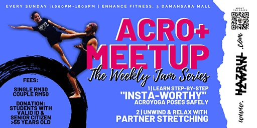 Acro+ Meetup: The Weekly Jam Series
