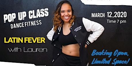 Latin Fever: Dance Fitness Class, 45 min Workout, Dance Class tickets